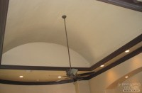 A simple design for pop up tray ceiling that takes the ...