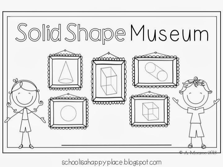 School Is a Happy Place: Solid Shape Museum (and a Math