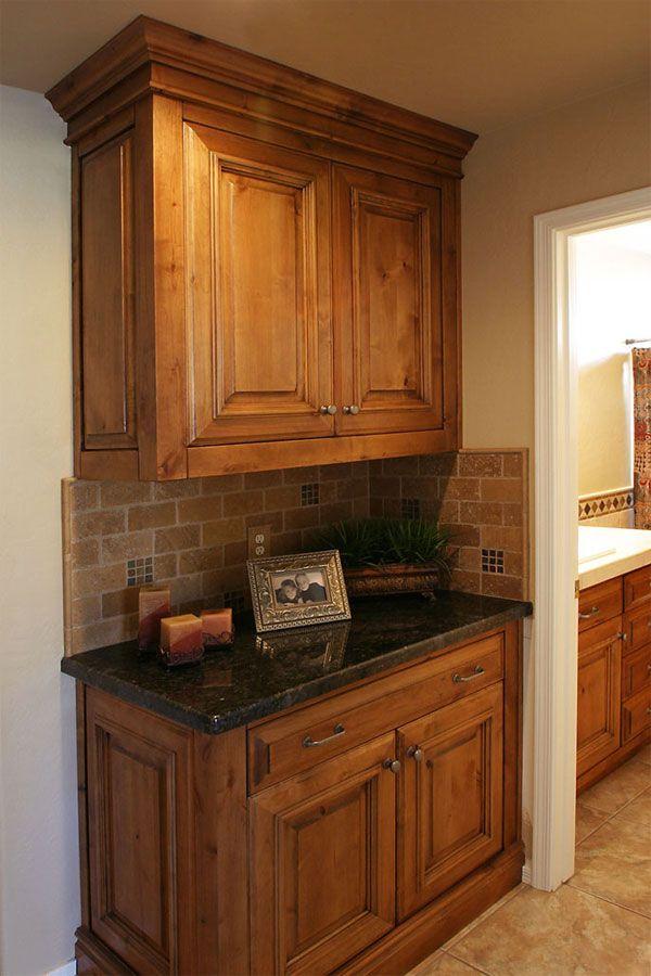 knotty alder  kitchen  Pinterest  Stains Furniture and Bathroom remodeling