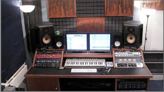 studio music composer desk setup  Google Search  Music