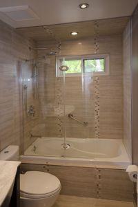 Tub Enclosure with Tub Shield | Full Bathroom Renovations ...