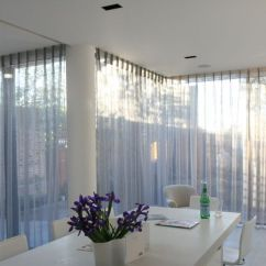 Sheer Curtain Ideas For Living Room Wall Colour Design Our Most Challenging Project To Date: Insetting 10metres ...