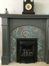 The 25+ best ideas about Mosaic Fireplace on Pinterest ...
