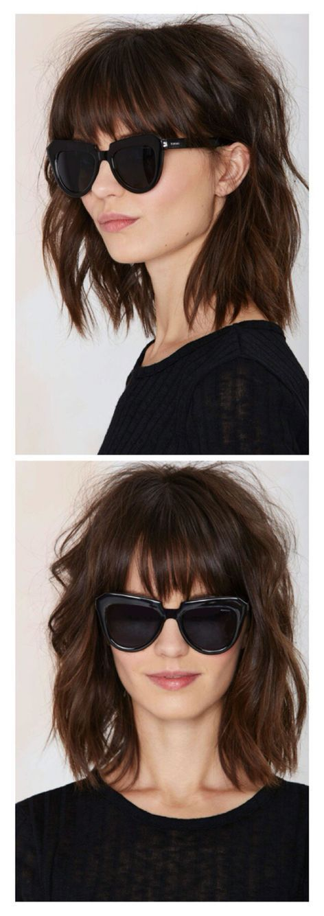 25 Best Ideas About Edgy Bangs On Pinterest Edgy Long Hair