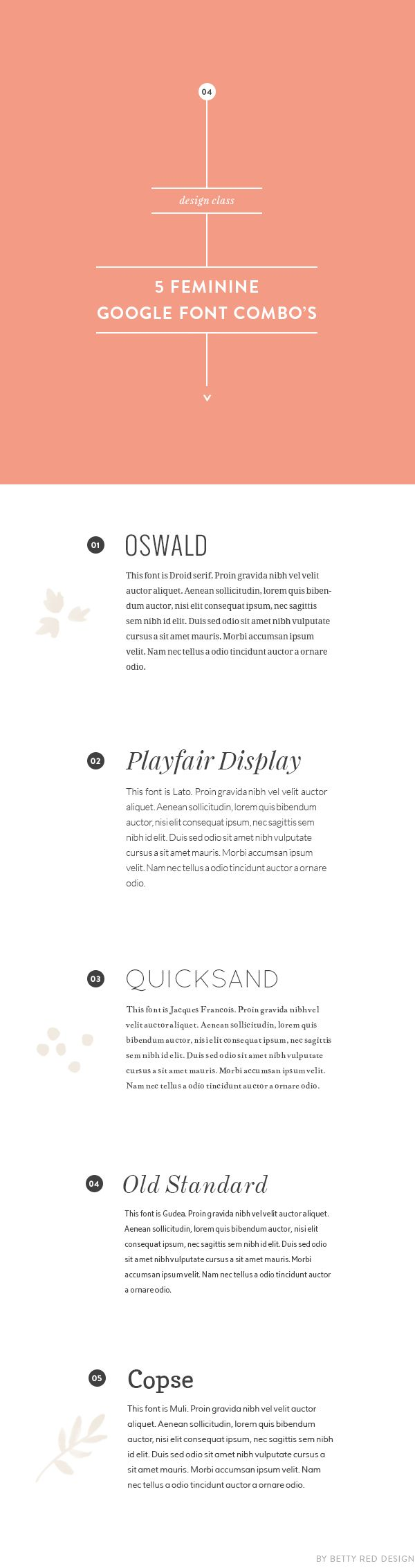Resume Font Pairings | CV Writing Services