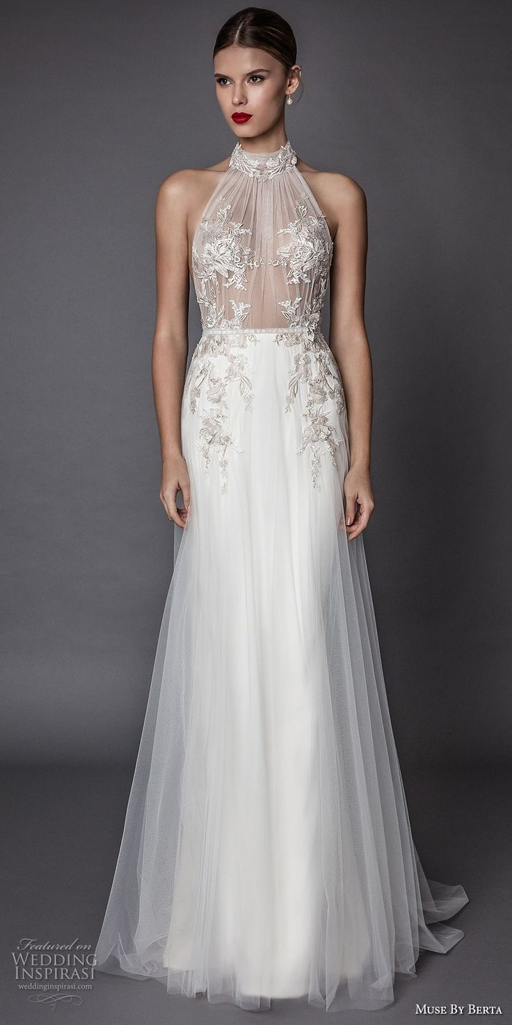 Best 25 Halter Wedding Dresses ideas on Pinterest  Halter style wedding gowns Sweetheart