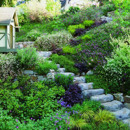 25 Best Ideas About Steep Hillside Landscaping On Pinterest