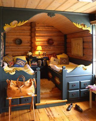 great idea for a guest room or for children who share a room.