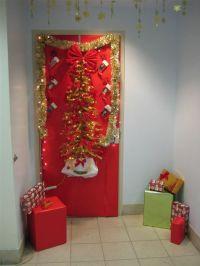 Cute Christmas Door Decorating Ideas ! | outdoor christmas ...