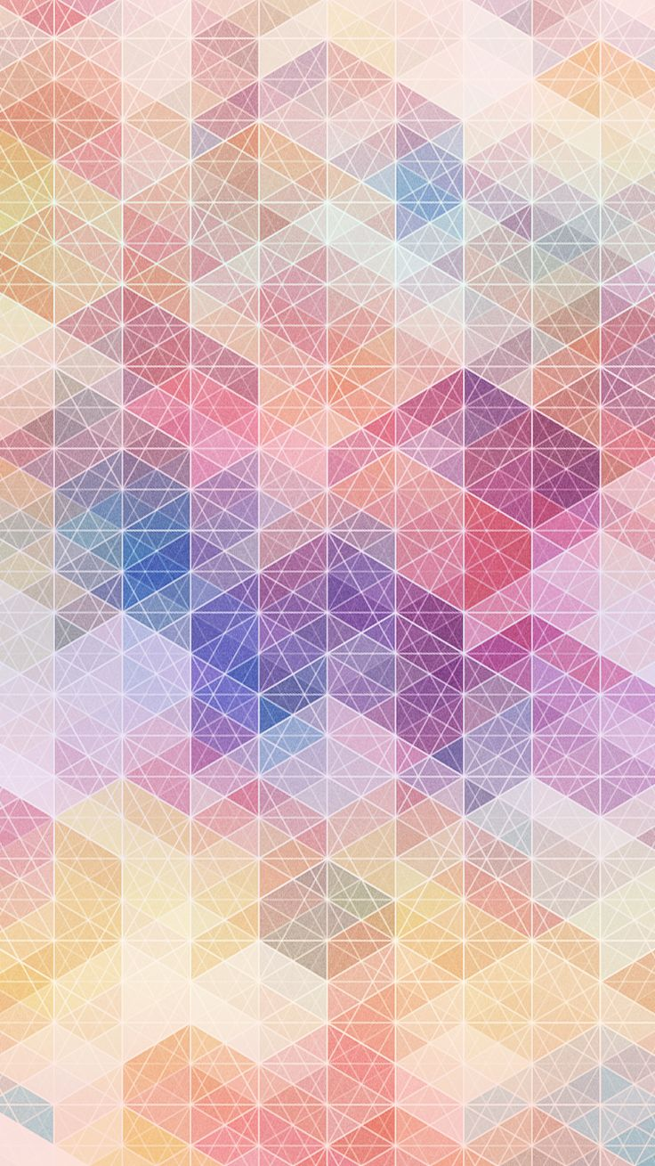 Iphone 5 Panorama Wallpaper Pastel Geometric Shapes Iphone 6 Wallpaper Iphone