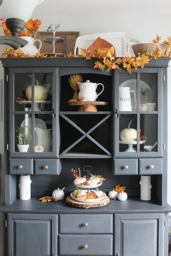 35 best images about China cabinet decor in and above on Pinterest  Seaside resort Cabinets