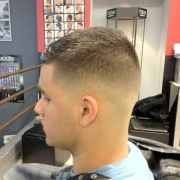 haircut military. 's uh