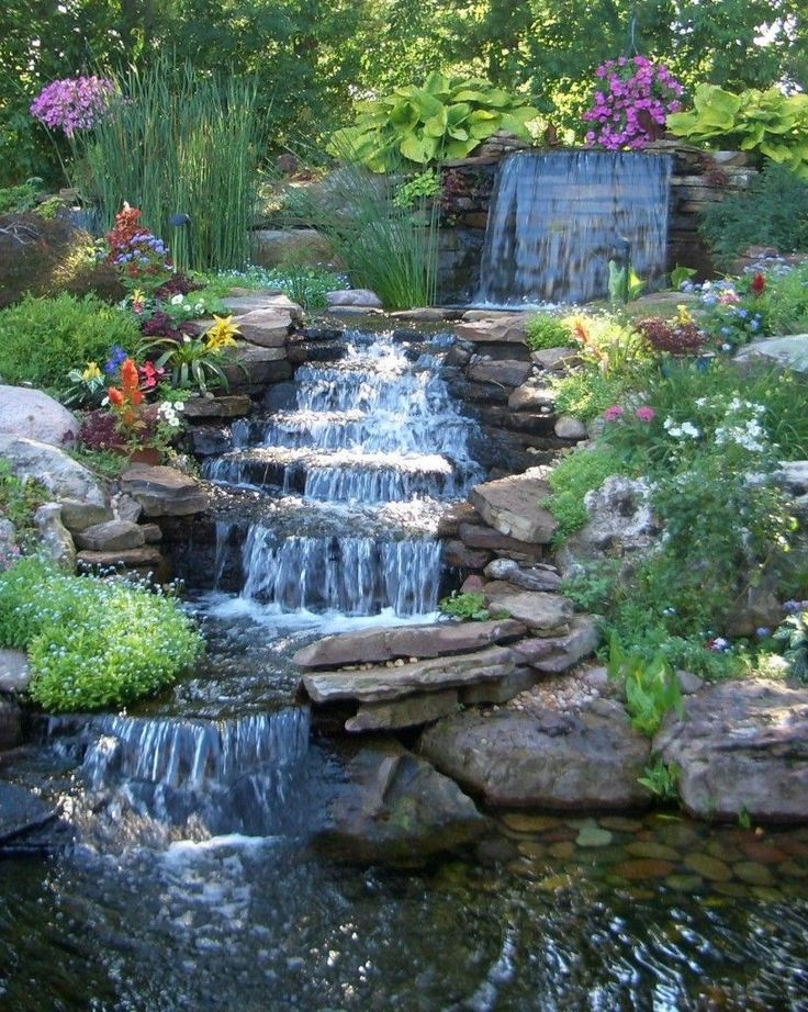 25 best ideas about Waterfall design on Pinterest  Diy waterfall Landscape design software