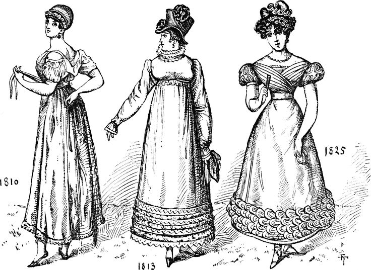 93 best images about Regency Costumes (1789-1820) and