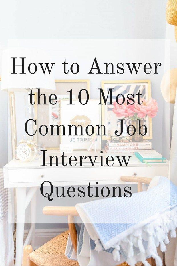 25 Best Ideas About Job Interview Questions On Pinterest