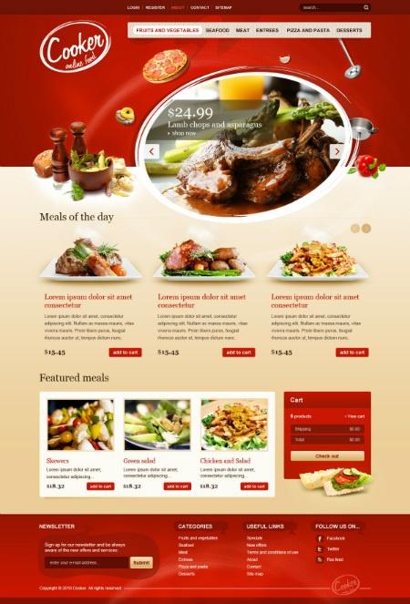 1000 ideas about Food Web Design on Pinterest  Food
