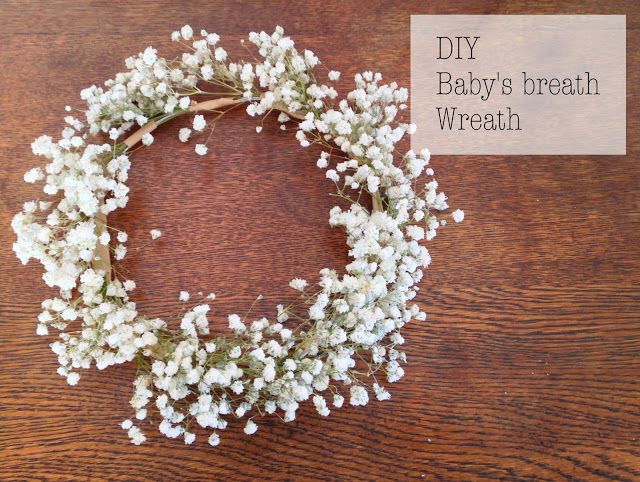 Best 20 Babys Breath Wreath Ideas On Pinterest White