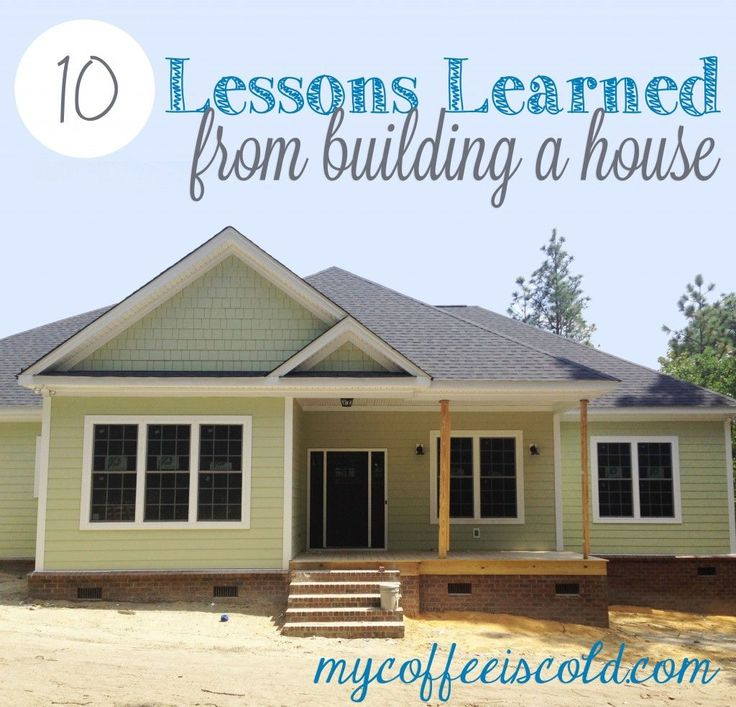 House Building Tips cool ideas for building a house