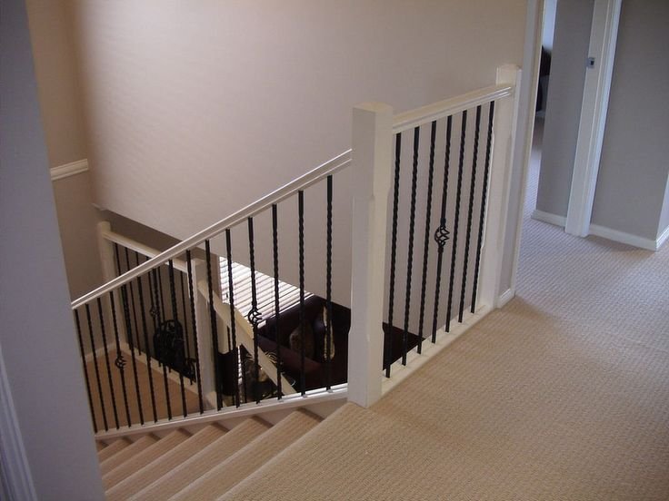 traditional u shaped stairs This is a great image from the
