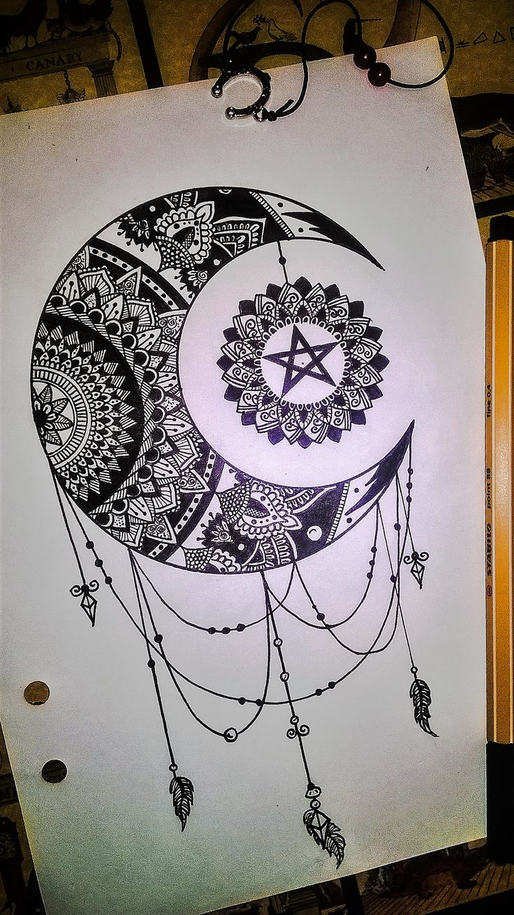 Best 25 Moon mandala ideas on Pinterest  Luna tattoo