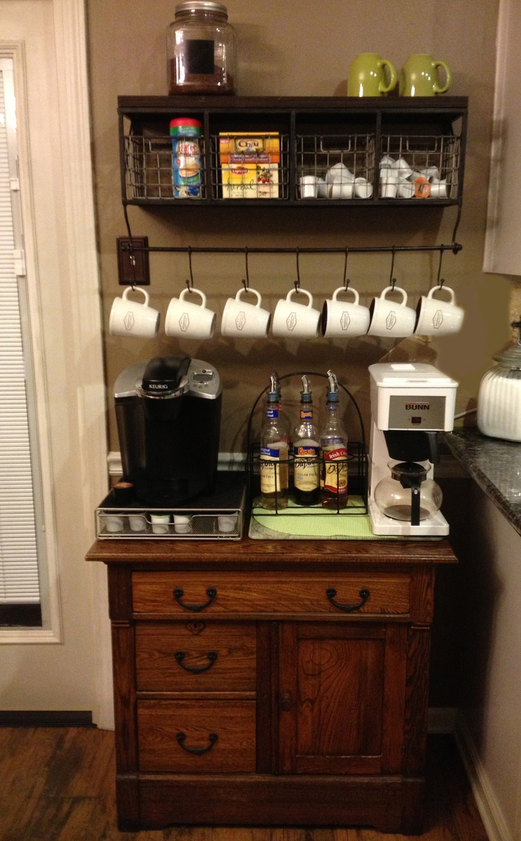 17 Best images about Coffee Bar on Pinterest  Marble top