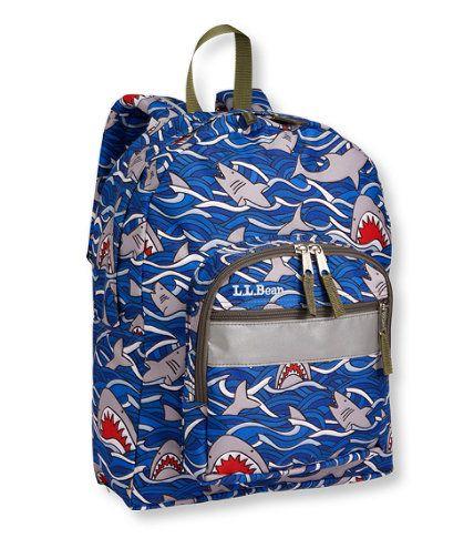 LLBean Junior Original Book Pack  Gray Shark  Free