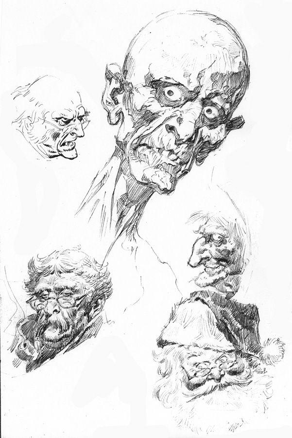 John Buscema sketch http://www.bobmcleod.com/buscemars