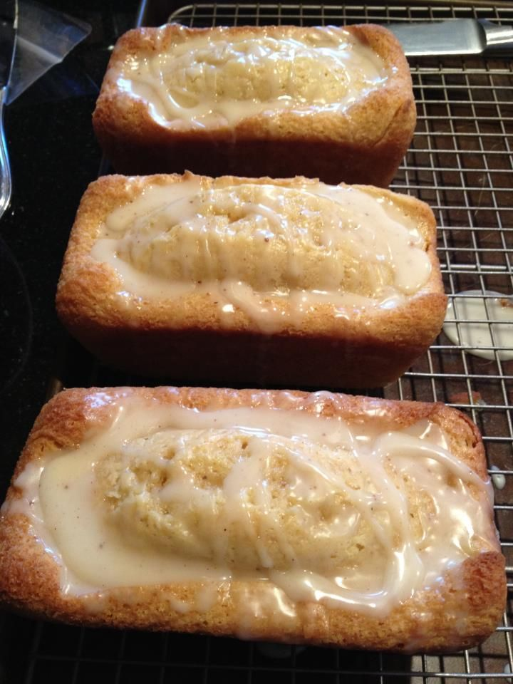 Eggnog Bread – keeping to try this Christmas – everybody raved about this bread last year on Pinterest