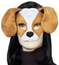 Our Puppy Dog Plush Mask is made of a fuzzy plush material ...