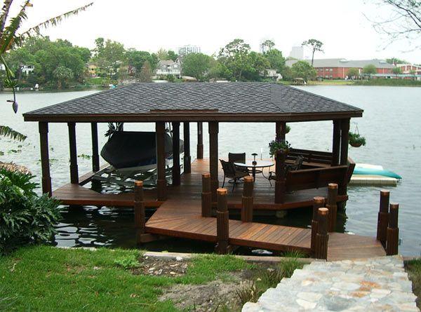 25 Best Ideas about Boat Dock on Pinterest  Lake dock Dock ideas and Dock hammock