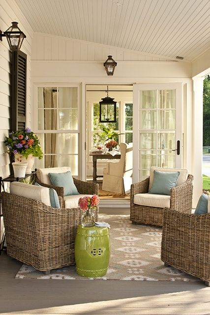 Pretty porch details, Farmhouse Rev