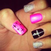 ideas cross nail