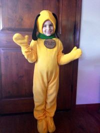 Pluto Fleece Dog Costume Children's by PatchworkLuxury on