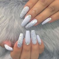 25+ best ideas about Coffin nail designs on Pinterest ...