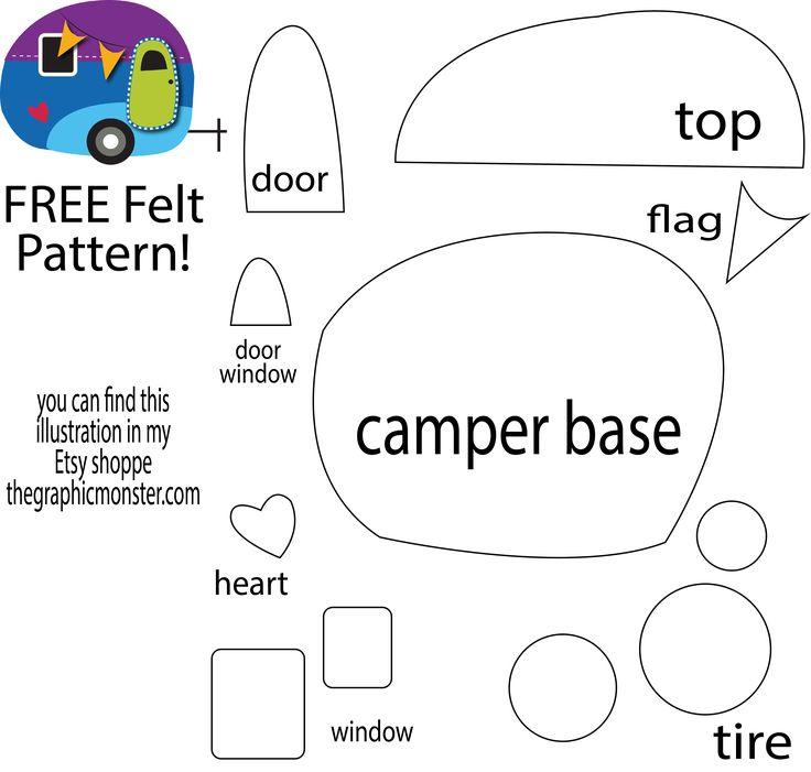 25+ best ideas about Felt crafts patterns on Pinterest