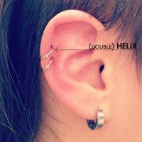 25+ best ideas about Double Helix Piercing on Pinterest ...
