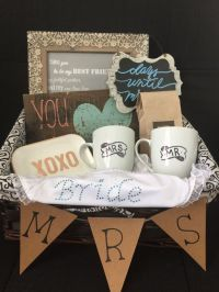25+ best ideas about Bridal gift baskets on Pinterest ...
