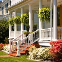 Big porch and boston ferns! | Home: Porches n Patios ...