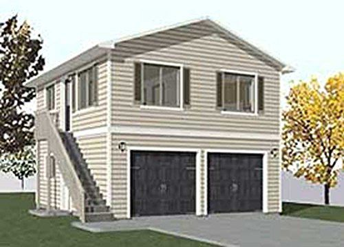 Garage Plans Two Car Two Story Garage With Apartment