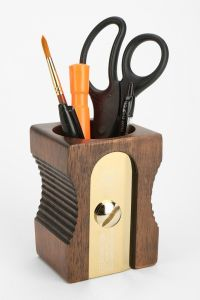 Sharpener Pencil Cup Holder | Urban outfitters, Pencil cup ...