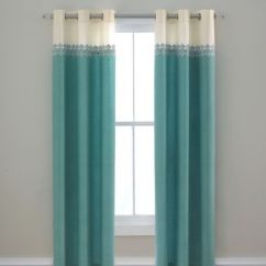 Jcpenney Kitchen Rugs Faucet Supply Lines Turquoise White Cream Ivory Off Curtains Drapes Teen ...