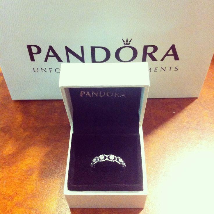 My Boyfriend Andrew Got Me A New Pandora Promise Ring