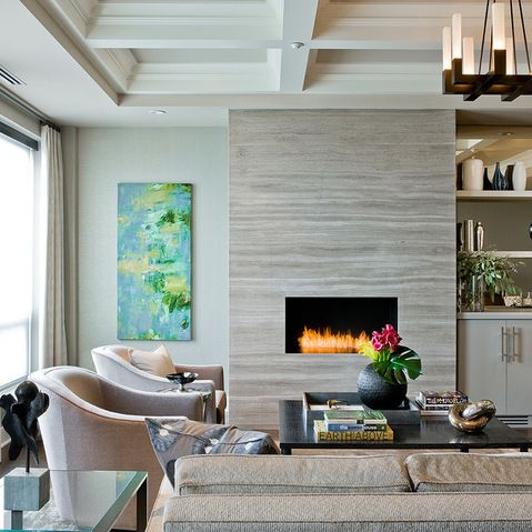 25 best ideas about Electric fireplace with mantel on