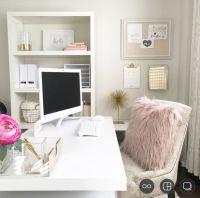 Best 25+ Feminine office ideas on Pinterest