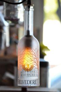 17 Best ideas about Bottle Lamps on Pinterest   Bottle ...