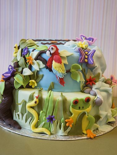 176 best Cakes Jungle Safari images on Pinterest