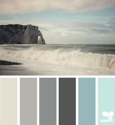 Like the idea of taking a photo & using that as a palette template for interior design…