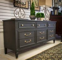 25+ best ideas about Graphite chalk paint on Pinterest