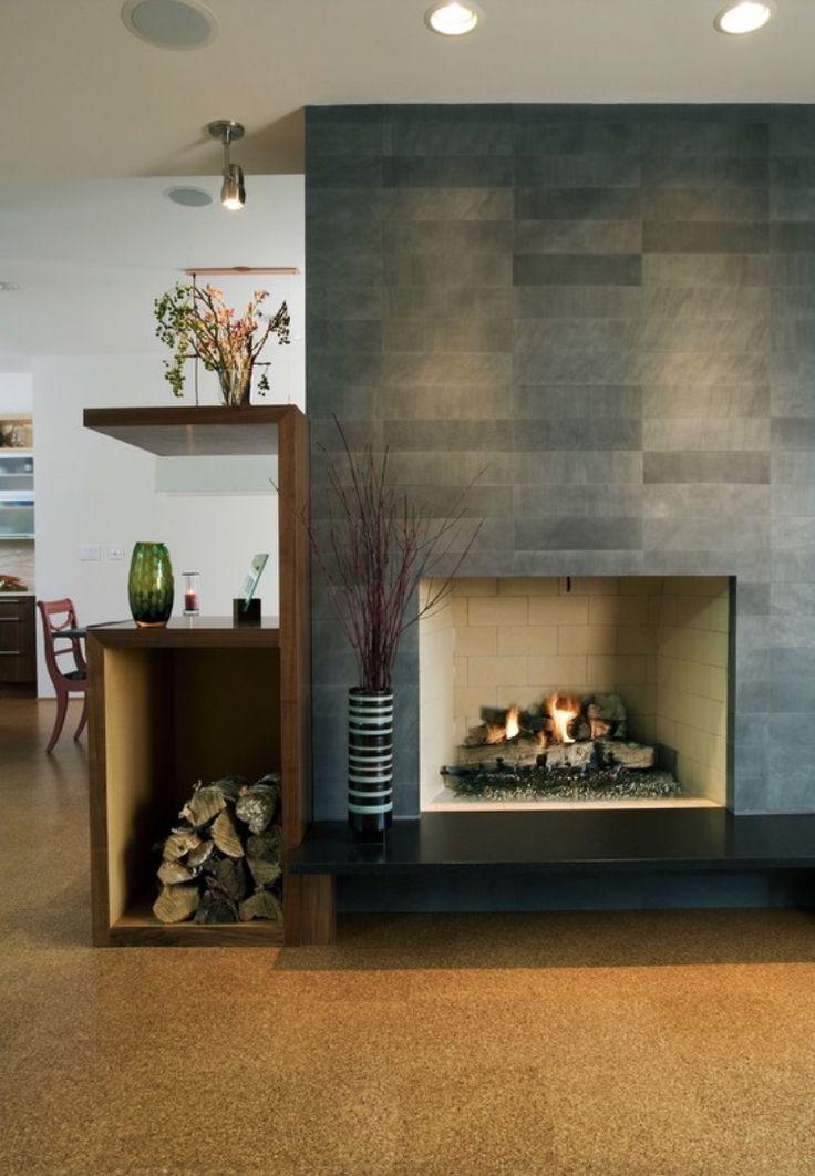 1000+ ideas about Slate Fireplace on Pinterest
