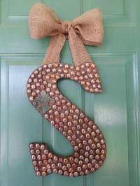 238 best images about Wooden Letter Ideas!! on Pinterest ...